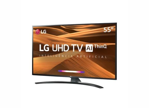 """Smart TV LED 55"""" LG  UM7470 Ultra HD 4K"""