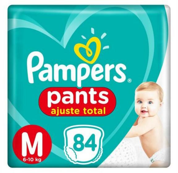 Fralda Pampers Pants  Ajuste Total Top