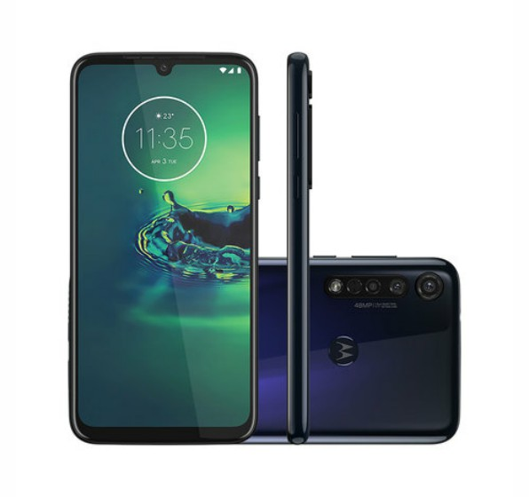 Smartphone Motorola G8 Plus 64GB Azul Safira