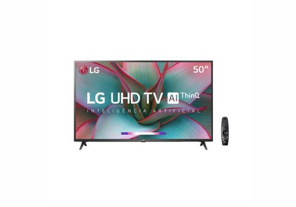 "Smart TV LED 50"" LG  UN7310PSC 4K Bluetooth"