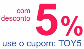 comdesconto5%use o cupom: TOY5