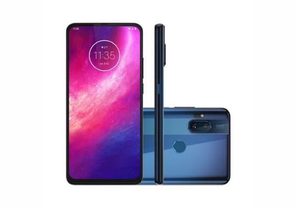 Smartphone Motorola One Hyper 128GB Azul Oceano