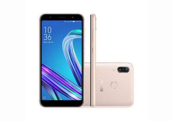 Smartphone Asus Zenfone Max M3 64GB Dourado
