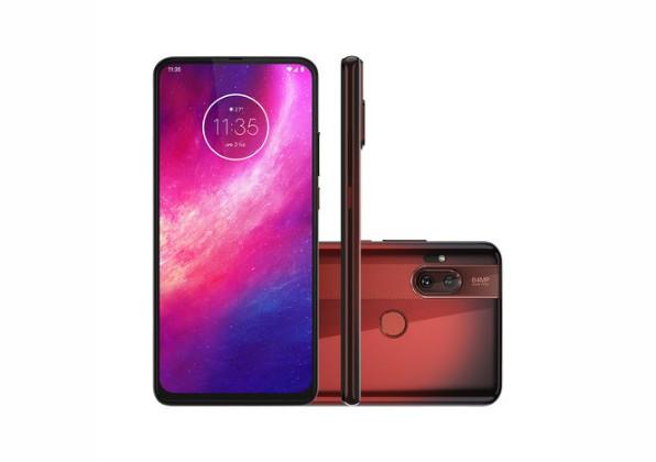 Smartphone Motorola One Hyper 128GB Vermelho Âmbar 4G