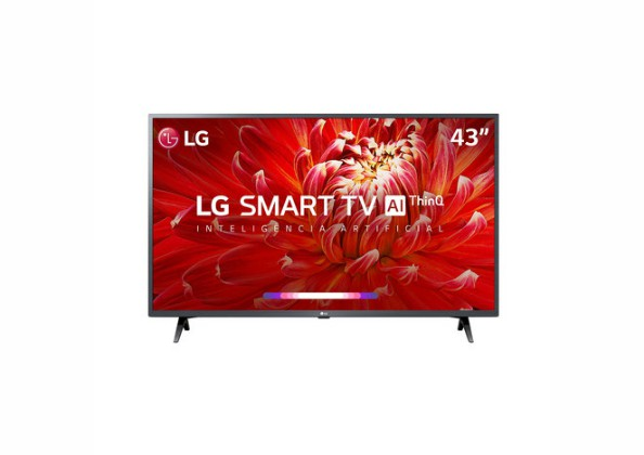 "Smart TV LED 43"" LG 43LM6300PSB FULL HD"
