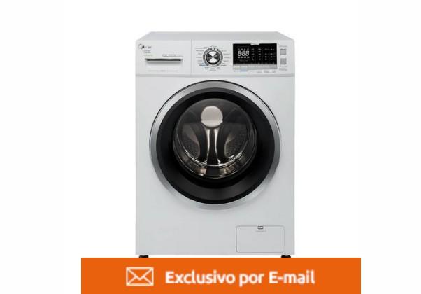 Lava e Seca Midea Storm Wash Inverter Tambor4D LSD12B1 12 Kg Branca 110V