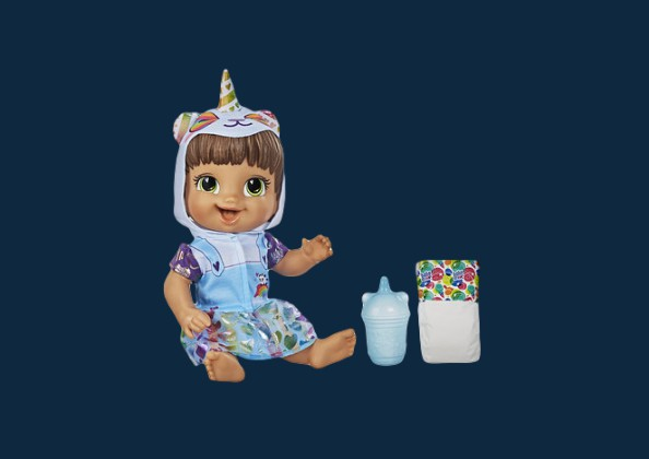 Boneca Baby Alive Tinycorn Panda Hasbro