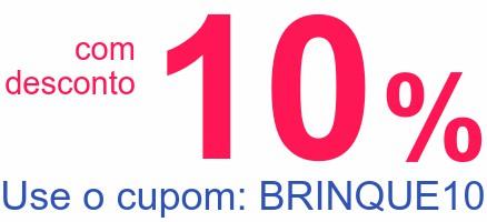 comdesconto10%Use o cupom: BRINQUE10