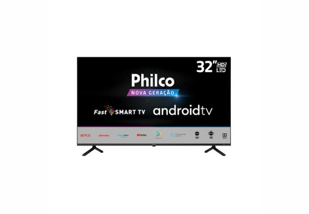 "Smart TV LED 32"" Philco PTV32E20AGBL HD Wi-Fi"