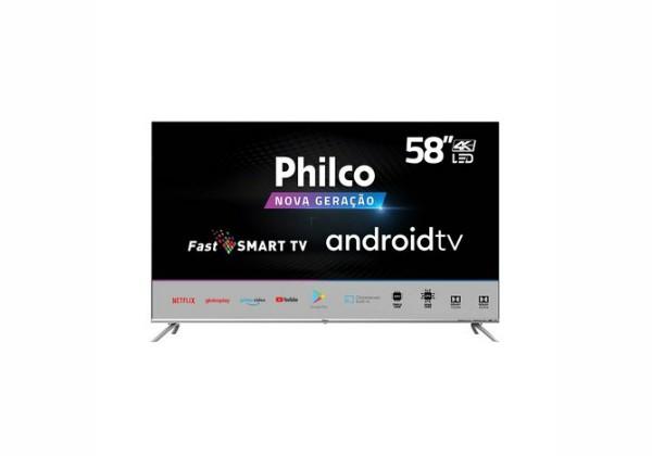 """Smart TV LED 58"""" Philco PTV58G71AGBLS UHD 4K"""
