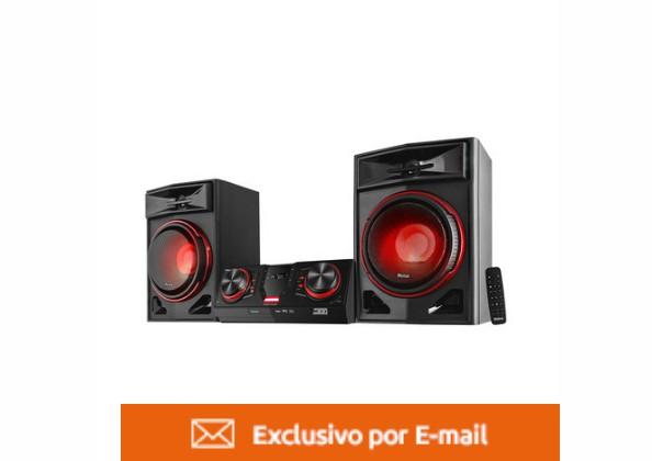 Mini System Philco 1900 Watts MP3 Rádio Bluetooth USB