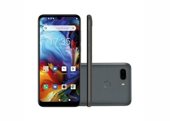 Smartphone Philco Hit Max 128GB Space Grey 4G Tela 6 Pol.