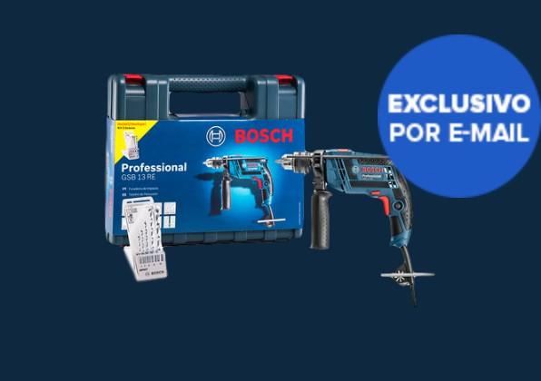"Furadeira de Impacto Bosch 650W Mandril 1/2"" GSB 13 RE"