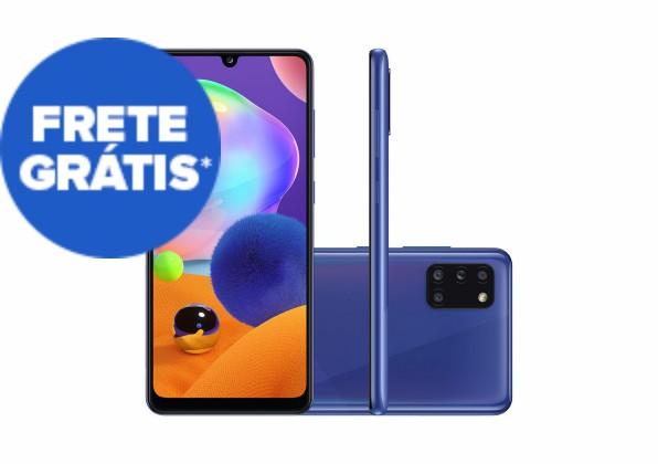 Smartphone Samsung Galaxy A31 128GB Azul Tela 6.4 Pol.