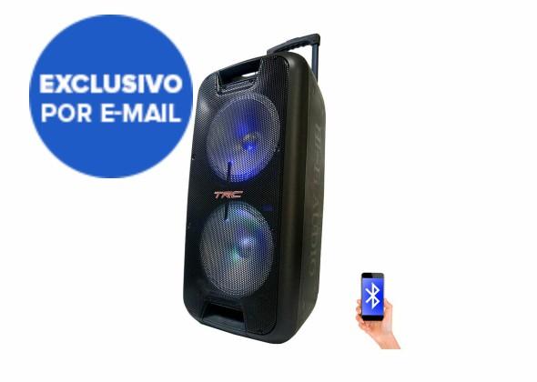 Caixa de Som Amplificada TRC 5570 Bluetooth USB