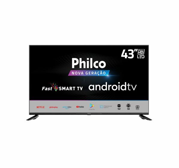 """Smart TV LED Full HD 43""""  Philco PTV43AGCG70BLF"""
