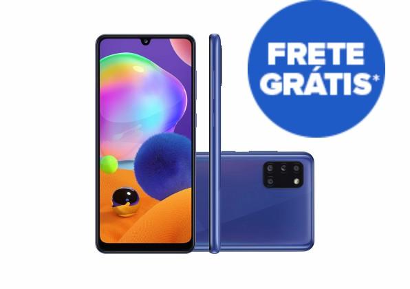 Smartphone Samsung Galaxy A31 128GB Azul 4G Tela 6.4 Pol.