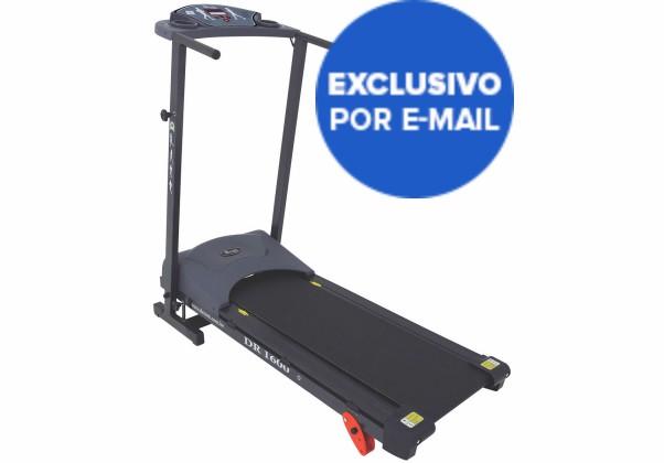Esteira Ergométrica Eletrônica Dobrável Dream Fitness DR 1600