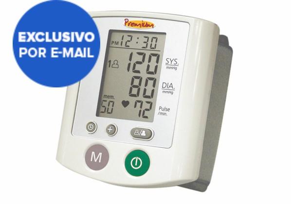 Medidor de Pressão de Pulso Oscilométrico RS380 Premium