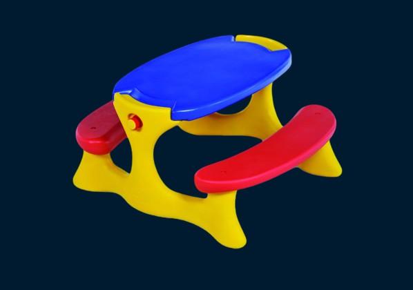 Mesa Infantil Recreio Bandeirante Playground 7153 Colorida